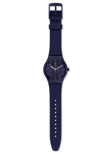 Swatch SUTN403 Sistem 51 Otomatik Kol Saati Lacivert
